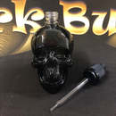 Skull Glasflasche 120ml Dark