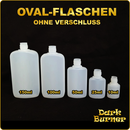 Ovale Flasche